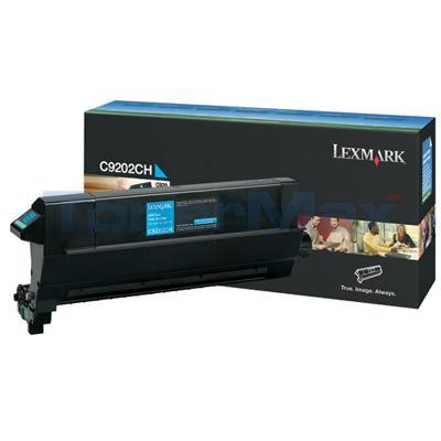 LEXMARK C920 TONER CART CYAN